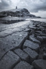 Kimmeridge Bay (Rich Walker75) Tags: kimmeridgebay seascape seascapes landscape landscapes landscapephotography canon efs1585mmisusm eos80d eos dorset blackandwhite blackwhite mono monochrome rock beach bay leadinglines cliff cliffs cloud clouds sea water
