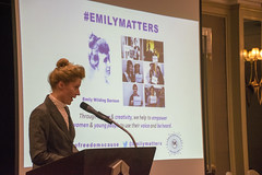 DSC_6740 (photographer695) Tags: the federation international womans associations london fiwal voices heard empowerment equality from around world kate willoughby actor writer proud yorkshire woman temporary suffragette aka emily wilding davison was who fought for votes women