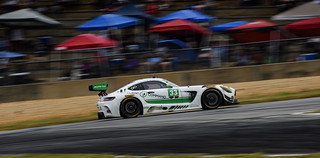 Mercedes AMG GT3 at the Petit