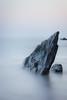 Shark Fin (Rich Walker75) Tags: minimalistic longexposure longexposures longexposurephotography canon sea water smooth fin rock spike coast coastline coastal eos eos80d seascape seascapes ocean devon england greatbritain nationaltrust