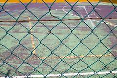 the fence III (Rasande Tyskar) Tags: fence fences playground spielfeld pitch zaun zäune barrier play ball games spiel spiele