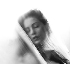 Mania Part 2 (Maren Klemp) Tags: fineartphotography fineartphotographer darkart darkartphotography blackandwhite monochrome woman portrait selfportrait conceptual surreal dreamy painterly artistic ethereal