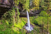 North Falls (KPortin) Tags: waterfall northfalls oregon trees canyon basalt spring