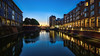 The old harbour (Norbert Clausen) Tags: thebluehour bluehour blaue stunde alter hafen langzeitbelichtung longexposure lake