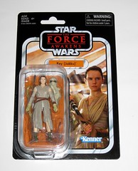 VC116 rey jakku star wars the vintage collection star wars the force awakens basic action figures 2018 hasbro mosc 3a (tjparkside) Tags: rey jakku star wars vintage collection tvc vc vc116 116 basic action figures 2018 hasbro figure thevintagecollection mosc episode 7 tfa force awakens eight vii staff belt robe hood goggles desert kenner bo mask alternate head