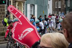 Guess who a support is? (barronr) Tags: england knaresborough rkabworks tourdeyorkshire yorkshire bathgatephotographer cycling cyclists male man men peloton race