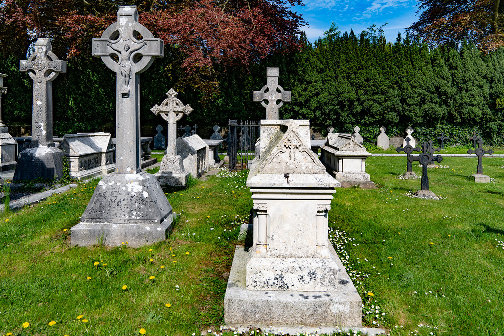 ST. PATRICK'S COLLEGE CEMETERY IN MAYNOOTH [SONY A7RIII IN FULL-FRAME MODE]-139569