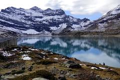 Lake of the magic mountain (Carandoom) Tags: clouds sky lake switzerland mountain
