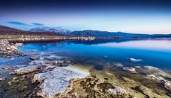 Mono Lake Sunrise - Sublime Serenity (Mike Filippoff) Tags: monolake california sunrise dawn mountains serenity calm snow tufas clear landscape mountain lake water nikonflickraward ngc