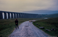 1988.06.20.01 Ribblehead Viaduct (Brunswick Forge) Tags: 1988 england yorkshire northyorkshire yorkshiredales night outdoor outdoors nature architecture travel grouped favorited
