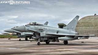 Eurofighter Typhoon FGR4 ZJ923 '923'