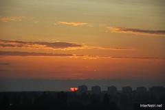 Небо Захід сонця InterNetri Ukraine  14