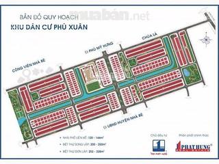 Hot! CC kẹt tiền bán gấp đất nền Phú Xuân Vạn Phát Hưng, dãy A2, chỉ 20.2tr/m2 LH Tuấn 0902.747.696