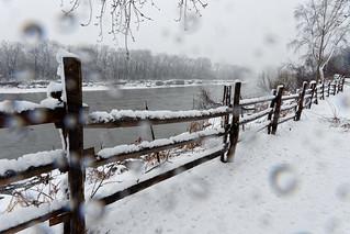 Mohawk River Fence