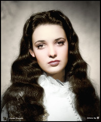 Linda Darnell 1923 - 1965 (oneredsf1) Tags: actress american colorized darnell linda