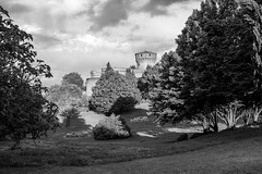 Volterra Jail Tower (Mancini photography) Tags: monochrome tuscany volterra jail tower park nature trees clouds landscape lights shodows