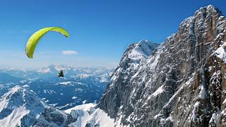 Paragliding - Dachstein - Steiermark - Österreich