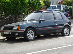 1990 Peugeot 205 GTI (Neil's classics) Tags: vehicle 1990 peugeot 205 gti
