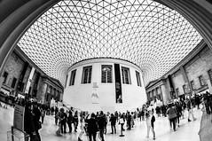 British Museum (Kilian ALL) Tags: londres london angleterre england royaume uni united kingdom hdr high dynamic range photomatix architecture fisheye opteka 65mm noir et blanc nb black white bw british museum