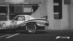 Those Times (Mr. Pebb) Tags: stockshot screencapture screenshot racinggame racegame part portion side photomode xbox xboxone microsoft ms turn10 turn10studios videogame forzaseries forza forzamotorsport7 fm7 forza7 rwd rearwheeldrive desaturated northamerican american v8 v8engined v8powered frontengined fr usa blackandwhite blackwhite bw car racingcar racecar indianapolis 4k