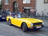Inca yellow 1976 Triumph TR6 FC33204 US model now in Denmark (sms88aec) Tags: inca yellow 1976 triumph tr6 fc33204 us model now denmark