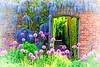 Summer Garden (primosavage) Tags: purple sensation allium spring early summerflowering perennials english country garden