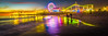 Neon Light Santa Monica Pier Ferris Wheel Rainbow Sunset & Dusk! Elliot McGucken Fine Art Landscape & Nature Photography! Red, Orange, Yellow, Green, Blue, Indigo, Violet Long Exposure Sunset Vista View! Scenic Magical Clouds! (45SURF Hero's Odyssey Mythology Landscapes & Godde) Tags: orange yellow green blue indigo violetlongexposuresunsetvistaviewscenicmagicalclouds
