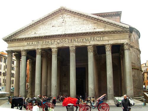 Пантеон, Рим, Італія InterNetri Italy 114