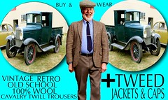 Tweed Jacket Sphere part 1 (Make Oxygen... Kill Co2...Plant More Trees) Tags: old vintage car tweed cap jacket mens dapper 2018 fashion cavalrytwill gents plaid tweedcoat flat cheesecutter auto nz kiwi country tie clothes poster sign text houndstooth dogtooth retro oldschool