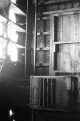 Lawrence MA_film-28 (them_cairo_doors) Tags: film bw manual minolta minoltax700 architecture mill abandoned