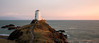 Golden Hour at the Tŵr Mawr Lighthouse (Angus Goosey Cogan) Tags: 1635 5dmkiii anglesey angus atmosphere coast cogan georgeous light lighthouse pink scenic sea seascape sky summer sunset twrmawr wideangle