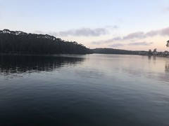Day 1 trip away (Emma:king) Tags: iphone lateafternoon evening reflectionsonwater reflections sunsetonwater sunset conjola lakeconjola lake