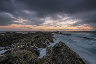 Snapper Rock sunrise