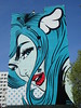 D*Face : Ningo Widi (15 avril 2018) (Archi & Philou) Tags: murpeint paintedwall dface nationale paris13 femme woman girl streetart portrait bleu blue rouge red