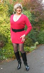 Denredwool-003 (fionaxxcd) Tags: crossdresser crossdressing m2f mtf transvestite tranny trannie tgirl tgurl ladyboy