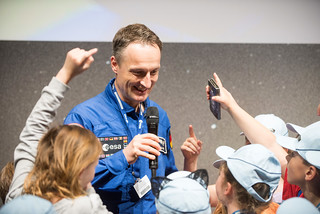 Astronauts day at ILA 2018