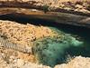 sinkhole (rick.onorato) Tags: arabia arabian desert sand muslim islam oman sinkhole water