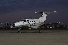 078 Northolt 19-04-18 (IanL2) Tags: frenchairforce embraer emb121 xingu raf northolt