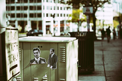 Jared and Michael (MikeSpeaks) Tags: jaredkushner michaelcohen washingtondc streetart politics donaldtrump activism street sidewalk sticker funny politicalart political asahitakumar85mmf19
