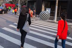 Nameless (Spontaneousnap) Tags: spontaneousnap street shanghai china city like candid documentary people publicareas lifestyle 上海 ricohgr takeabreak afternoon asia balloon zebra