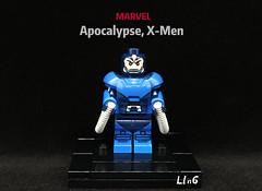 Apocalypse, X-Men Marvel (L1n6zz) Tags: engineerio lego xmen marvel apocalypse