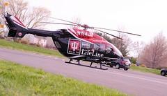 Life Line (Low angle) (Jon Hughes2) Tags: flickrfridays lowangle nikond3100 nikkor55200 helicopter hometown