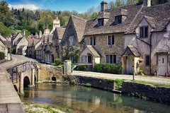 Picturesque (Nige H (Thanks for 20m views)) Tags: castlecombe wiltshire england village stream cottages bridge highstreet pretty prettyvillage visitengland visitwiltshire visitbritain