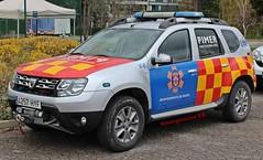 Protección Civil Pinto (emergenciases) Tags: emergencias españa 112 vehículo comunidaddemadrid proteccióncivil pc pimer pinto pimerpc dacia duster