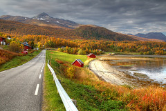 Road to the Arctic (hapulcu) Tags: arctic norge noruega norvege norvegia norway norwegen senja troms automne autumn autunno herbst høst toamna