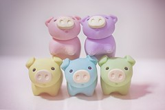 125/365 : Five Little Pigs (♥GreenTea♥) Tags: pig eraser pigeraser pigs erasers pigerasers bluepig pinkpig purplepig greenpig yellowpig blue pink purple green yellow iwako iwakoeraser iwakoerasers イワコー t1i canon canont1i canont1irebel canonrebel eos canoneosrebelt1i ef100mmf28macrousm canonef100mmf28macro hdr googlenikcollection nikcollection colorefexpro viveza hdrefexpro 365 photoaday pictureaday project365 365toyproject oneobject oneobject365daysproject 365the2018edition 3652018 day125365 365day125 day125 project365125 05may18 project36505052018 05052018 odc ourdailychallenge five odcfive ourdailychallengefive