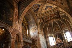 Abbazia di San Pietro, Perugia (ScotchBroom) Tags: abbazia cathedral cattedrale basilica sanpietro church chiesa frescos affreschi paintings art italy italia perugia umbria italianart interior abbey