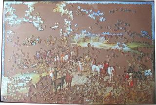 ARROW GAMES 4000 5101 01 VILLAGE LANDSCAPE BY Jan Brueghel I