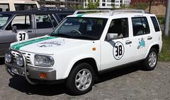 Rasheen 4x4 (Schwanzus_Longus) Tags: bremen german germany old classic vintage car vehicle japan japanese suv sport utility station wagon estate break combi kombi nissan rasheen 4x4 auto schuppen 1 eins
