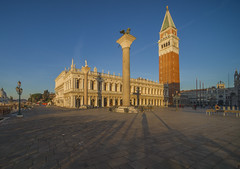 In Venice (y.mihov, Big Thanks for more than a million views) Tags: venice venezia square tourist trespass travel town tower buildings architecture art stone bricks europe italy sonyalpha sightseeing sigma 1224mm winter wide wealth walks skyes sea people